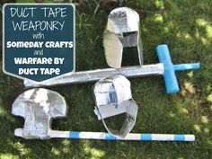 Duct Tape Weaponry   Someday Crafts