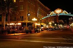 Historic Gas Lamp District, San Diego Attractions