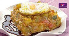 Una deliciosa #receta de nuestro #blog: #receta de #pisto con huevo