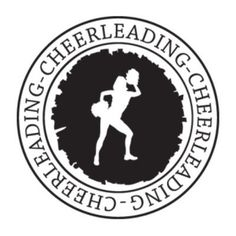 """Style and Apply Cheerleaders Wall Decal Size: 24"""" H x 24"""" W, Color: Dark Green"""
