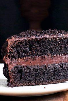 "Chocolate Fudge ""Blackout"" Cake Recipe"