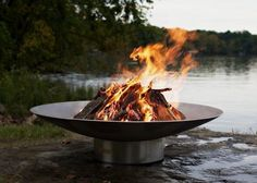 Bella Vita Celebrates Your Passion For the Good Life. Gathering Family and Friends Around Bella Vitas Abundant Fire Will Rekindle Your Inner Spirit as You Watch the Dancing Flames. This Regal Stainless Steel Fire Pit is Forty Six Inches in Diamet. Fire Pit Art, Fire Pits, Stainless Steel Fire Pit, Wood Burning Fire Pit, Steel Fabrication, Fire Table, Steel Art, Fire Bowls, Gas Fires