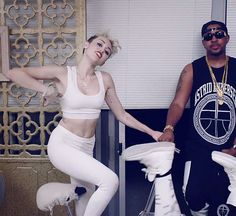 Miley Cyrus - 'We Can't Stop' music video stills