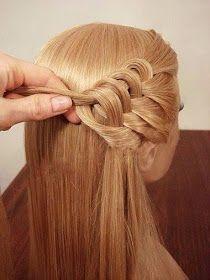Assuntos e Achados da Scheila: Inspiração de Penteado para Cabelos Longos