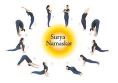 33 best surya namaskar images  surya namaskar yoga yoga