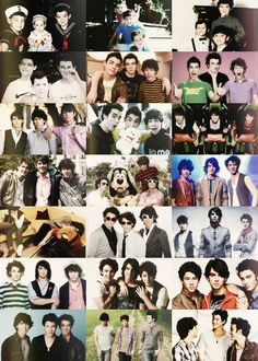 Jonas Brothers through the years! Melts my heart! <3