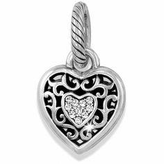 Brighton Reno Heart Charm.  $15