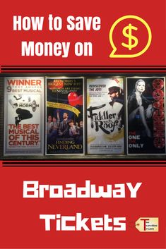 A travel blog with five suggestions that will help you save money on Broadway show tickets when you are in New York City.  via @2travelingtxns