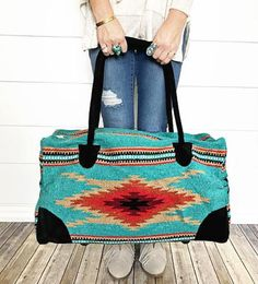 Upgrade your travel style with a South by Southwest Weekender Bag! South By Southwest, Inside Bag, Aztec Designs, Vintage Vibes, Western Wear, Bag Making, Purses And Bags, Shoulder Bag, My Style