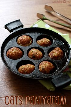 Oats Kuzhi Paniyaram / Oats Ponganalu | 4th Sense Cooking