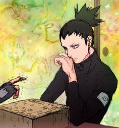 Shikamaru Nara / Naruto // All rights to the owners Hinata Hyuga, Sasunaru, Anime Naruto, Gaara, Naruto And Shikamaru, Naruto Boys, Shikadai, Naruto Comic, Shikatema