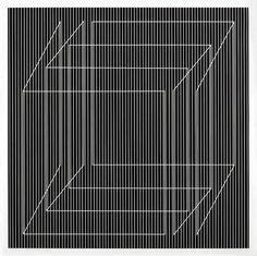 Julian Stanczak, Linear Structure # VIII, 1972