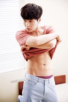 EXO's Lay Bares His Chocolate Abs for December Issue of Cosmopolitan China