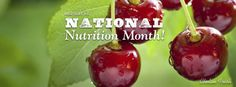 March is National Nutrition Month! How do you celebrate it? www.chelanfresh.com