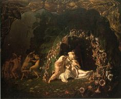Richard Dadd, Titania Sleeping, 1841