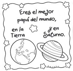 Día del Padre: Dibujos para el Día del Padre Fathers Day Art, Fathers Day Crafts, Happy Fathers Day, Diy Craft Projects, Woodworking Projects Diy, Diy For Kids, Crafts For Kids, Elementary Art, Creative Gifts