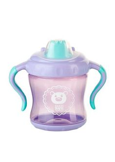 Vaso Antigoteo con Tapa Morado 275 ml - My Little Zoo, baby shop Baby Shop, Kettle, Kitchen Appliances, Shopping, Vase, Kids Learning, Pour Over Kettle, Cooking Ware, Teapot