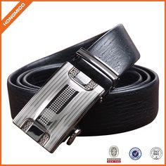 Beautiful Design Men Luxury Leather Automatic Buckle Belt