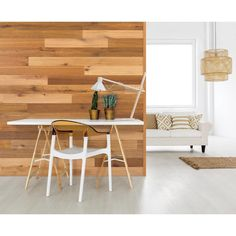 Genuine engineered hardwood wall planks with adhesive peel and stick backs. Available in many styles and colors, shop peel and stick wood wall planks today. Peel And Stick Shiplap, Peel And Stick Wood, Wood Panel Walls, Wood Paneling, Stick On Wood Wall, Rustic Colors, Brown Walls, Re Zero, Engineered Hardwood