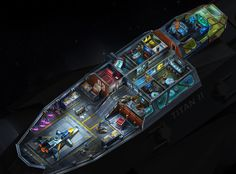 Ships map for indi. WIP by Alex Mordovets on ArtStation. Space Ship Concept Art, Robot Concept Art, Concept Ships, Spaceship Interior, Spaceship Art, Spaceship Design, Star Wars Ships, Star Wars Art, Ship Map