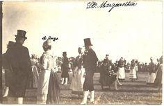 Tracht der Wilstermarsch 1919 Vorführung in St. Margarethen #Wilstermarsch