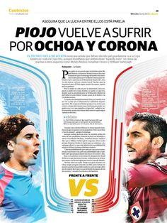 Piojo vuelve a sufrir por Ochoa y Corona