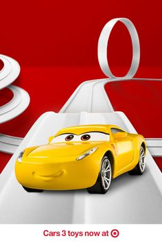 Cruise across the finish line with the newest member of the Cars 3 racing crew, Cruz Ramirez! Get Cruz and all your favorite Cars 3 characters, now available at Target.