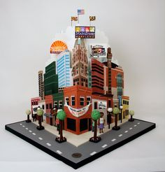 Maryland Cake made by Charm City Cakes