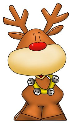 another cute Rudolph clipart! Christmas Rock, All Things Christmas, Christmas Projects, Holiday Crafts, Christmas Holidays, Christmas Decorations, Christmas Ornaments, Christmas Clipart, Christmas Printables