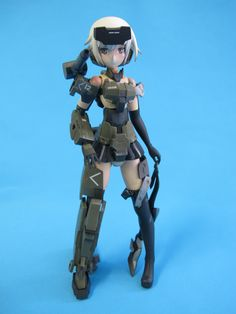 A very popular series of art work and model kits coming out of Japan with a soon to be released anime. When snapped the model is very toy like and in this vi. Frame Arms Girl, Popular Series, Watch V, Japan, Artwork, Youtube, Model, Anime, Work Of Art