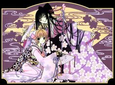 CLAMP, xxxHOLiC, Tsubasa: RESERVoir CHRoNiCLE, Ichihara Yuuko, Princess Sakura, Folding Fan