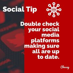 Pretty important if you spend your time promoting your business from your social platforms. Check links are working, numbers are up to date and messenger is switched on. 👍🏻