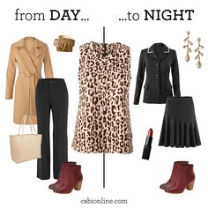 #cabi – Leopard prints are a perfect match for both our Keaton Trouser and Skater Skirt to create all-day elegance. www.jeanettemurphey.cabionline.com