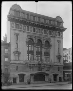 Yorkville Casino on 86th Street bet 2nd and 3rd Avenues in 1912
