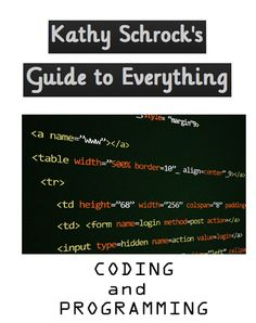 Coding and programming support page