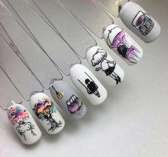 How to easily remove a glitter nail polish - My Nails Pedicure Designs, Nail Art Designs, Diy Pedicure, Clean Nails, Fun Nails, Glitter Nail Polish, Acrylic Nails, Winter Nails, Spring Nails
