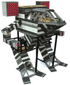 Mega Mech | Kid's Giant Robot Woodworking Plan