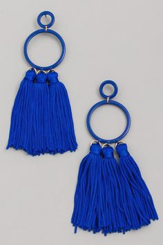 Assorted Colour Tassle Earrings – S.O.S. Save Our Soles Tassel Earrings, Beaded Bracelets, Hoop Earrings, Stone Bar, Prom Looks, Bar Necklace, Colour, Jewels, Beads