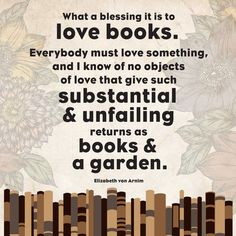 I go more for the books myself...