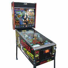 Pinball - Elvira, Mistress of the Dark - 1989 Arcade Arcade Game Machines, Arcade Machine, Arcade Games, Monster Party, Party Monsters, Pinball Wizard, Horror Decor, Air Hockey, Family Games