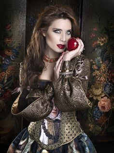 """Once upon a time"" Portfolio by Rebeca Saray Gude, via Behance"