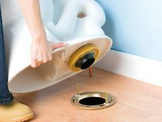 How to remove and replace a toilet DIY