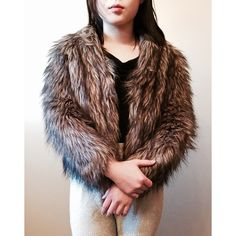 FINAL FLASH- Shaggy Faux Fur Coat Ultra luxe, rich brown shaggy faux fur coat by Vintage Havana. I believe it's from Nasty Gal. Worn a few times, in great condition! Size M but fits like an XS-S, would recommend for anyone size 0-4! Feel free to make an offer! Nasty Gal Jackets & Coats