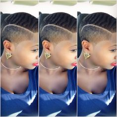 Make Your Hair Look Amazing With These Tips - All Hair Care Tips and Guide Natural Hair Short Cuts, Short Hair Cuts, Natural Hair Styles, Dreads, Curly Nikki, Brush Cut, Shaved Hair Designs, Cut My Hair, Hair Hacks