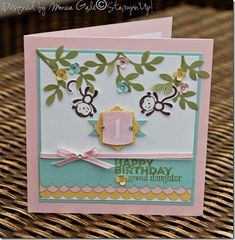 Stampin!Up! Fox and Friends