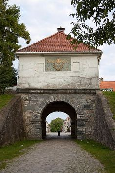 Fredrikstad fortress - gate of the town