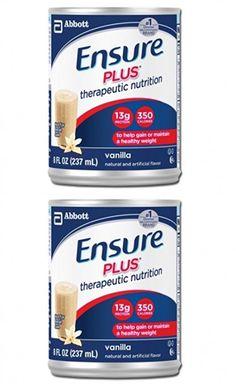 50464 Abbott Nutrition CS/24 - Ensure Plus Oral Supplement Vanilla 8 oz Cans 50464