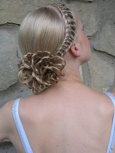 Knotted braids. | Kenra Professional. Braided Hairstyles.Updo