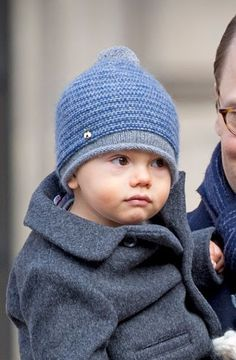 Prince Oscar celebrate the Name Day ceremony of the Crown Princess at the inner square of the Royal Palace on March 12, 2017 in Stockholm, Sweden.