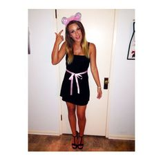 """Pin for Later: 29 Ways to Channel Your Inner Mean Girl This Halloween A Mouse """" . . . Duh."""""""